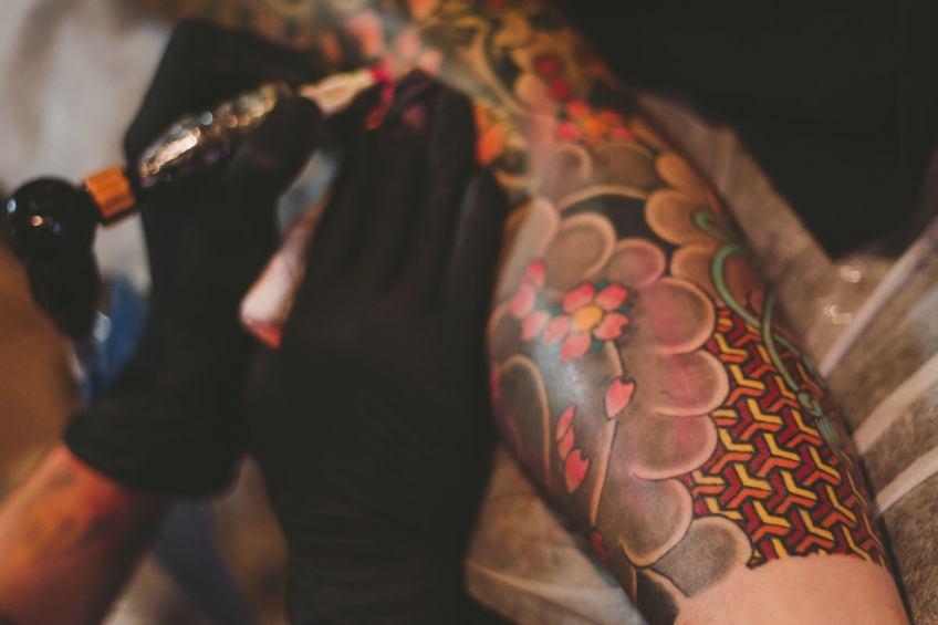 Tatuaje Sakura - Flor de Cerezo - Caroli Dilli - Tatuaje Japones
