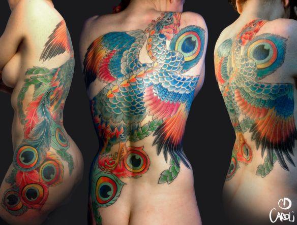Tatuaje Fenix - Caroli Dilli - Tatuaje Japones